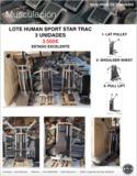 Lote human sport star trac, gimnasio - foto