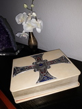 Antigua biblia  lujo 1967 coleccionistas - foto