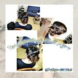 peluquera y manicurista - foto
