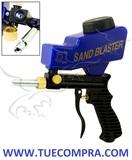 Pistola neumática de chorro de arena - foto