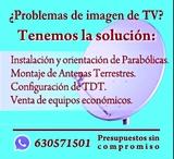 Antenista , ventas , instalaciones , HD - foto