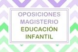 TEMARIO OPOSICIONES MAGISTERIO INFANTIL - foto