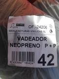 Botas vadeador de neopreno n42 foca - foto