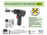 "Pistola de impacto 1/2\"" mini composite - foto"