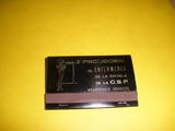 Caja de cerillas,fosforos,3ªpromocion ,e - foto