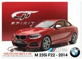 1:18 BMW M 235i F22 año 2014 color Rojo - foto
