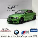 1:18 BMW Serie 1 M E82 Coupé 2013 Verde - foto