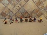 lote 8 vikingo  playmobil con sus acceso - foto