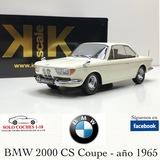 1:18 BMW 2000 CS Coupé 1965 color Blanco - foto