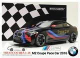 1:18 BMW M2 Coupé Pace Car  2016 Negro - foto