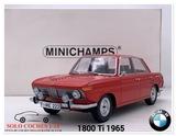 1:18 BMW 1800 Ti año 1965 color Rojo - foto
