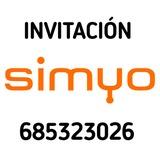Invitación amigo Simyo 20 - foto