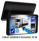 tablet gps 8 pulgadas para camion 2020 - foto