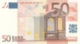 Billete UE 50 euros - Plancha - foto