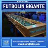 Alquiler futbolin gigante barcelona - foto