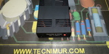 Convertidor de voltaje 12cc a 220 ac - foto