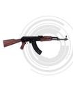 Fusil de asalto AK 47, - foto