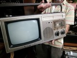 Radio cassette televisor portatil - foto