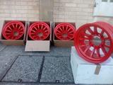 Llantas tubulares 15x8 et-44 color rojo - foto