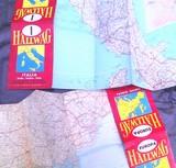 Mapas de europa e italia 60\\\\\\\'s - foto