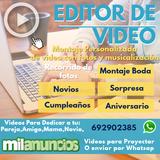 editor de video videos para regalar - foto