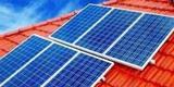 Energias renovables con placas solares - foto