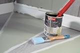 Pintura y tarimaflotante - foto
