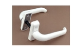 Manilla negra/blanca retornable aluminio - foto