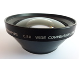 Olympus 0.8x wide conversion lens - foto
