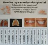PROTESICO DENTAL reparación dentaduras - foto