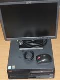 PC IBM con teclado y ratón.  Sin monitor - foto