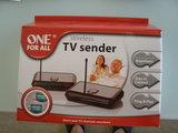 Transmisor inalambrica tv sender one all - foto