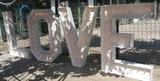 LOVE letras - foto