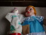 Marionetas una disney y otra antigua - foto