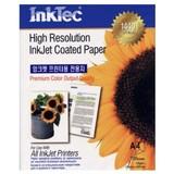 100 Hojas A4 papel HQ de InkTec 105 gr - foto