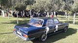 Coche boda clásico Mercedes - foto