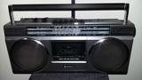radio  grabador cassette hitachi retro - foto
