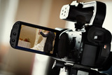 Operador de video de bodas - foto