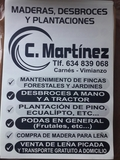 DESBROCES Y PLANTACIONES C. MARTÍNEZ - foto