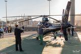 paseo en helicóptero - foto