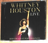 Whitney Houston cd live - foto