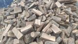 Leña de roble seca para chimeneas - foto