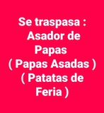 PATATAS ,  ASADOR ,  FERIA ,  ESPAÑA ,  PAPAS - foto