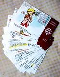 Colección postales de Lotería Nacional - foto