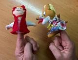 Marionetas de dedo - foto