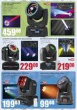 Cabezas mobiles led & audio stock bdn - foto