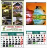 Se realiza calendarios con su publicidad - foto