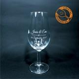 Copas y vasos de cristal grabado - foto