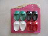 antiguos zapatos boton,de nancy,nuevos. - foto