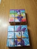 2 Puzzles de cubo con  personajes Disney - foto